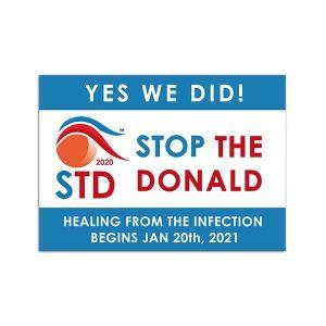 Anti Trump Sticker | Biden Inauguration